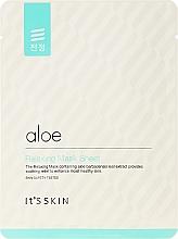 Kup Relaksująca maska na tkaninie z aloesem do twarzy - It's Skin Aloe Relaxing Mask Sheet