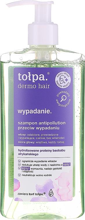 Szampon antipollution przeciw wypadaniu włosów - Tołpa Dermo Hair Anti-Hairloss Shampoo