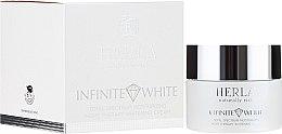 Kup Liftingujący krem przeciwzmarszczkowy do twarzy - Herla Infinite White Total Spectrum Moisturizing Night Therapy Whitening Cream