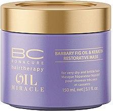 Kup Odbudowująca maska do włosów Olej z opuncji figowej i keratyna - Schwarzkopf Professional BC Bonacure Oil Miracle Barbary Fig Oil & Keratin