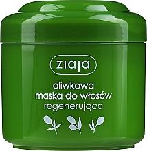 Kup Naturalna oliwkowa maska regenerująca do włosów - Ziaja Liście zielonej oliwki