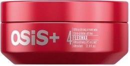 Ultramocny kremowy wosk do włosów - Schwarzkopf Professional OSiS+ FlexWax — фото N2