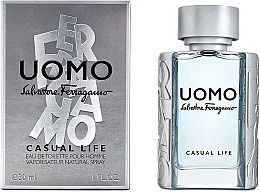 Kup PRZECENA! Salvatore Ferragamo Uomo Casual Life - Woda toaletowa *