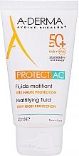 Kup Przeciwsłoneczny fluid matujący SPF 50 - A-Derma Protect AC Mattifying Fluid