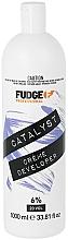 Kup Krem w kremie 6% - Fudge Catalyst Creme Developer 6% 20 Vol
