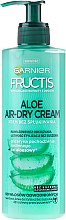 Kup Krem bez spłukiwania do włosów odwodnionych - Garnier Fructis Aloe Air-Dry Cream