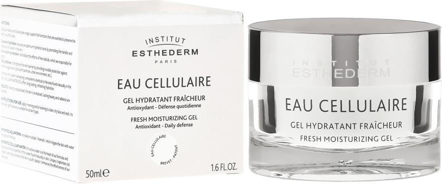 Nawilżający żel do twarzy - Institut Esthederm Cellular Fresh Moisturizing Gel — фото N1