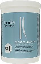 Kup Rozjaśniacz w pudrze do włosów - Londa Professional Blondes Unlimited Creative Lightening Powder