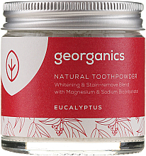 Kup PRZECENA! Naturalny proszek do czyszczenia zębów - Georganics Eucalyptus Natural Toothpowder *