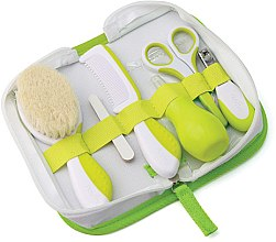 Kup Zestaw do pielęgnacji dziecka, limonkowy - Nuvita Baby Nail Care Kit