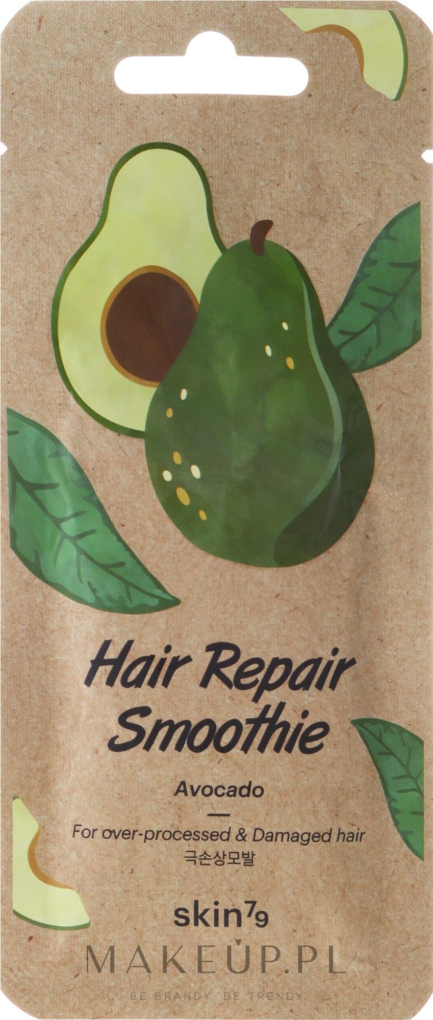 Naprawcze smothie do włosów przemęczonych i zniszczonych Awokado - Skin79 Hair Repair Smoothie Avocado — фото 20 ml