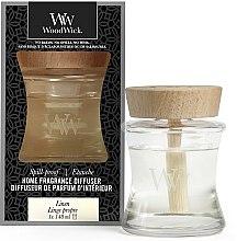 Kup Dyfuzor zapachowy - Woodwick Home Fragrance Diffuser Linen