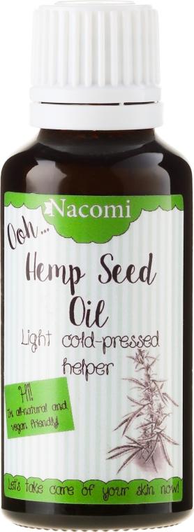 Nierafinowany olej z nasion konopi indyjskiej - Nacomi