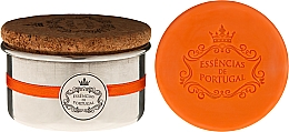 Kup Naturalne mydło - Essencias de Portugal Aluminium Jewel-Keeper With Cork Lid Orange