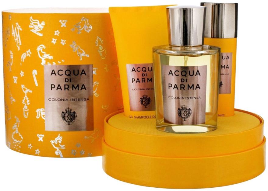 Acqua Di Parma Colonia Intensa - Zestaw (edc/100ml + sh/gel/75ml + deo/50ml) — фото N3
