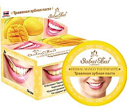 Kup PRZECENA! Pasta do zębów z mango - Sabai Thai Herbal Mango Toothpaste *