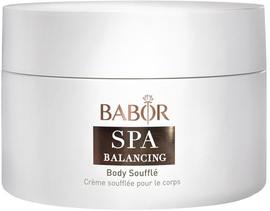 Kremowy suflet do ciała - Babor SPA Balancing Body Soufflé