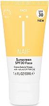 Kup Przeciwsłoneczny krem do twarzy - Naif Sunscreen Face Spf30