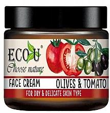 Kup Nawilżający krem do twarzy do skóry suchej i wrażliwej Oliwki i pomidor - Eco U Face Cream