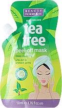 Kup Głęboko oczyszczająca maska peel-off - Beauty Formulas Tea Tree Peel-Off Mask
