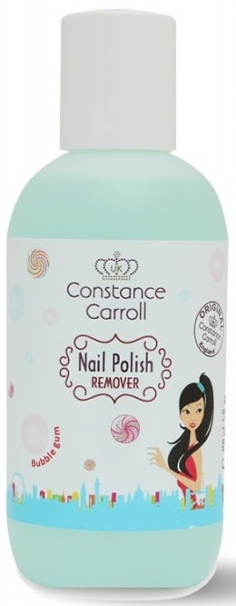 Zmywacz do paznokci - Constance Carroll Bubble Gum Nail Polish Remover