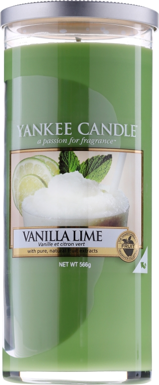 Świeca zapachowa pilar Wanilia i limonka - Yankee Candle Vanilla Lime — фото N2