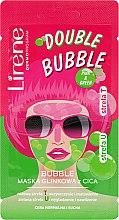 Kup Bąbelkowa maska glinkowa z Cica do cery normalnej i suchej - Lirene Double Bubble Cica Mask