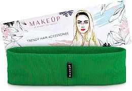 Kup Opaska na głowę Be Beauty, zielona (20 x 6 cm) - Makeup