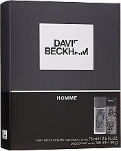 Kup David Beckham Homme - Zestaw (b/spray 75 ml + deo 150 ml)