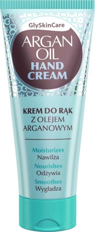 Krem do rąk z olejem arganowym - GlySkinCare Argan Oil Hand Cream