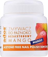 Kup Zmywacz do paznokci bez acetonu Mango - Ados Acetone Free Nail Polish Remover
