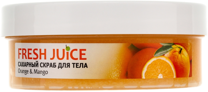 Scrub do ciała - Fresh Juice Orange and Mango — фото N2
