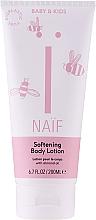 Kup Zmiękczający balsam do ciała z naturalnym ekstraktem z nasion bawełny - Naïf Baby Softening Body Lotion