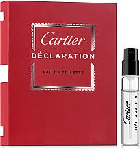 Kup PRZECENA! Cartier Declaration - Woda toaletowa (próbka) *