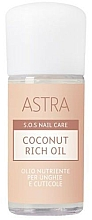 Kup Olej kokosowy do paznokci i skórek - Astra Make-up Sos Nails Care Coconut Rich Oil