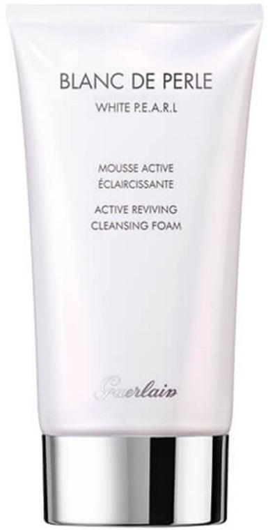 Rozjaśniająca pianka oczyszczająca do twarzy - Guerlain Blanc de Perle Active Reviving Cleansing Foam — фото N1
