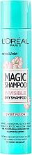 Kup Suchy szampon do włosów - L'Oreal Paris Magic Shampoo Invisible Dry Shampoo Sweet Fusion