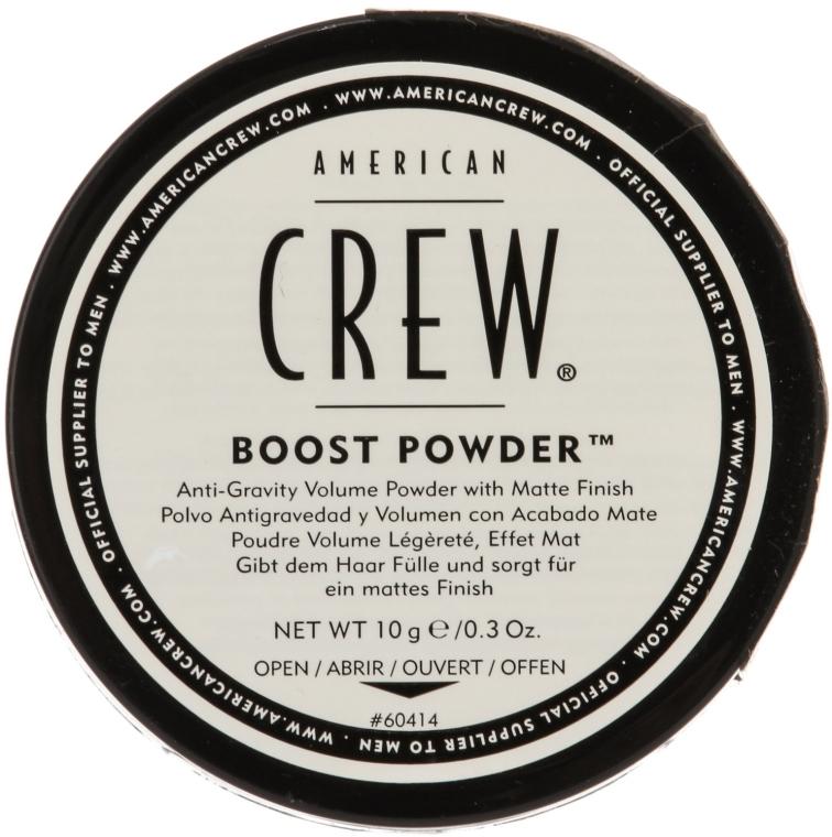 Matujący puder zwiększający objętość włosów dla mężczyzn - American Crew Boost Powder
