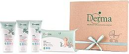 Kup Zestaw - Derma Eco Baby (cr 100 ml + cr 100 ml + shm 150 ml + wipe 64)