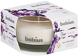 Kup Świeca zapachowa w szkle Lawenda i Rumianek, 50/80 mm - Bolsius True Moods Candle