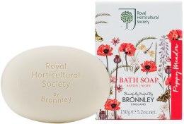 Kup Bronnley RHS Poppy Meadow - Mydło w kostce do kąpieli