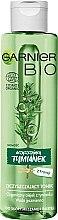 Kup Oczyszczający tonik do twarzy - Garnier Bio Purifying Thyme Perfecting Toner