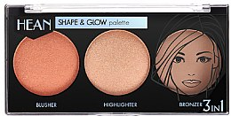 Kup Paletka do konturowania twarzy - Hean Shape & Glow Palette