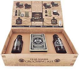 Kup PRZECENA! Dear Barber Collection II Groom & Go - Zestaw (beard/oil 30 ml + wax 25 ml + edt 30 ml) *