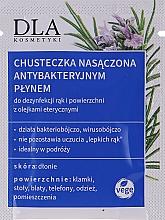 Kup Chusteczka z płynem antybakteryjnym do dezynfekcji rąk - DLA