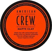 Kup Matująca glinka do włosów dla mężczyzn - American Crew Matte Clay