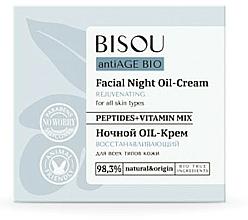 Kup Regenerujący krem na noc do każdego typu cery - Bisou AntiAge Bio Facial Night Oil-Cream