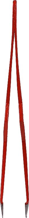 Brokatowa pęseta do brwi, czerwona - Glamtech Valentines Tweezer — фото N3