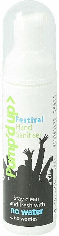Płyn antybakteryjny - Pump'd Up Hand Sanitiser — фото N1