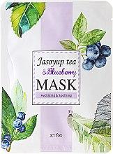 Kup Nawilżająco-kojąca maseczka do twarzy Herbata Jasoyup i borówka amerykańska - A:t fox Jasoyup Tea & Blueberry Mask